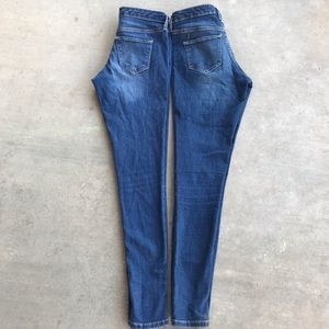 Mossimo 24/00 Mid Rise Stretch Skinny Jeans 2 Pair